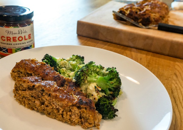 healthy meatloaf image
