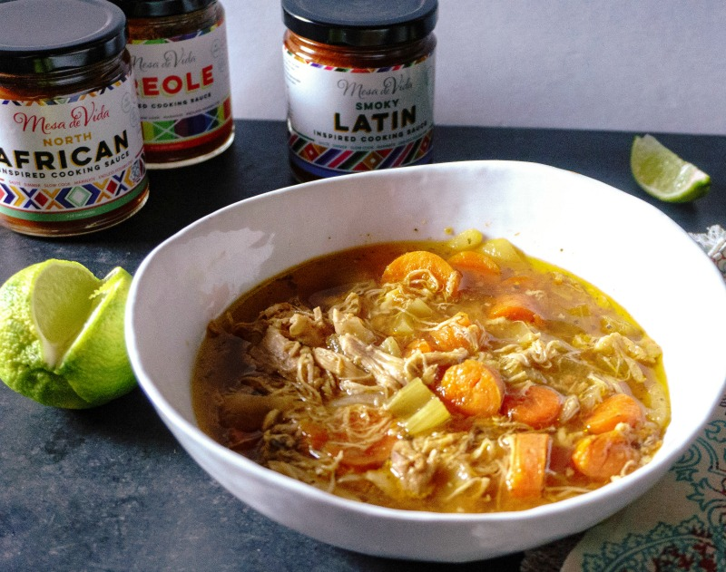 Slow Cooker Mexican Chicken Soup Image