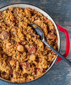 Easy healthy low sodium Jambalaya recipe