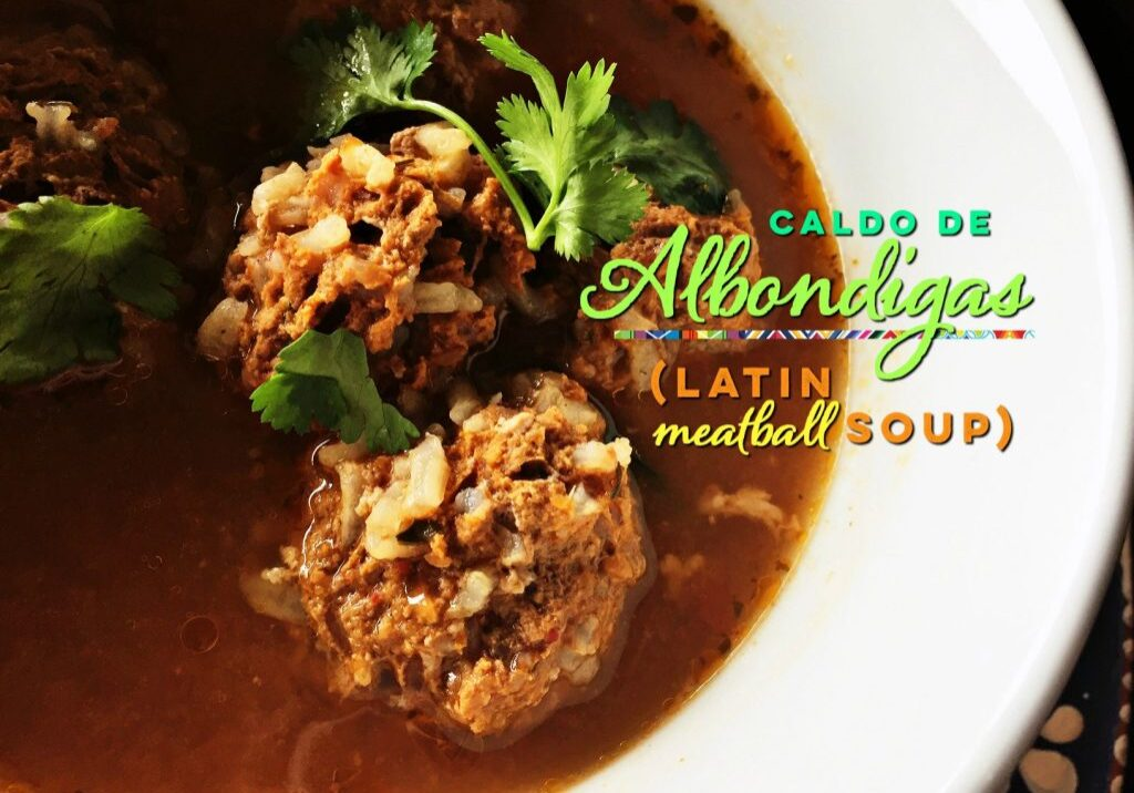 How to make a heart-healthy beef soup recipe. Mexican meatball soup recipe
