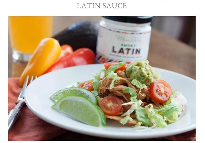 How to make Chicken Tinga in the slow cooker Beyond the Kitchen Door