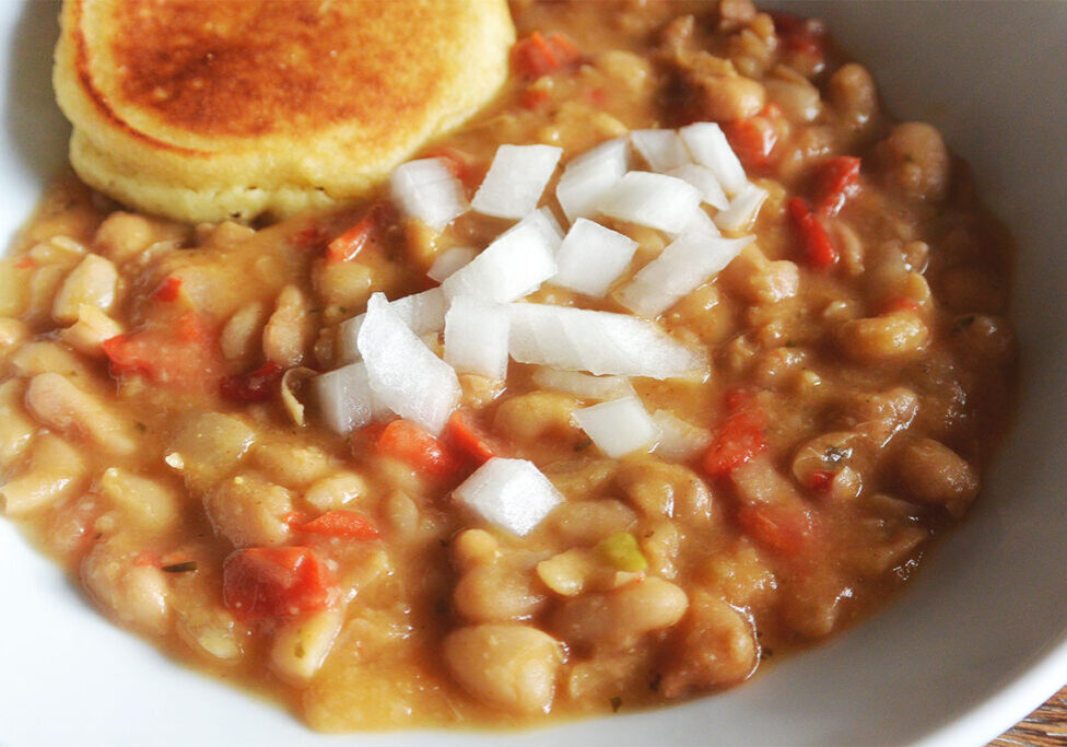 How to make creamy Southern style white beans in the Instant Pot