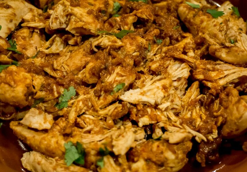 Make meal prep a breeze by using healthy cooking sauces to make juicy shredded chicken in the Instant Pot.