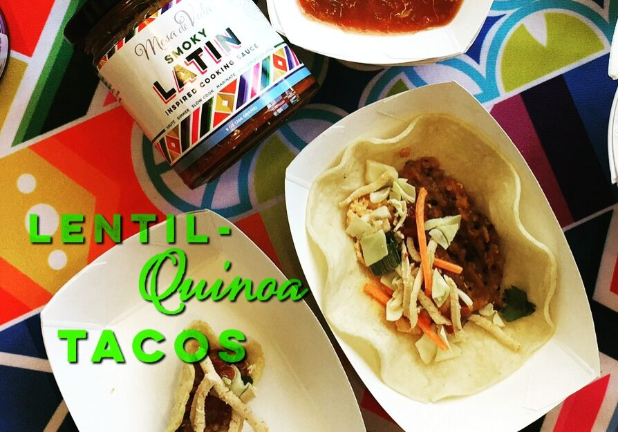 A simple and delicious healthy taco filling! Perfect for Meatless Monday or Plant-Based Taco Tuesday! High fiber, high in protein.