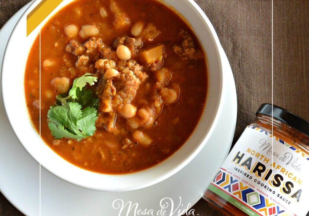 Healthy North African White Bean Chili Recipe