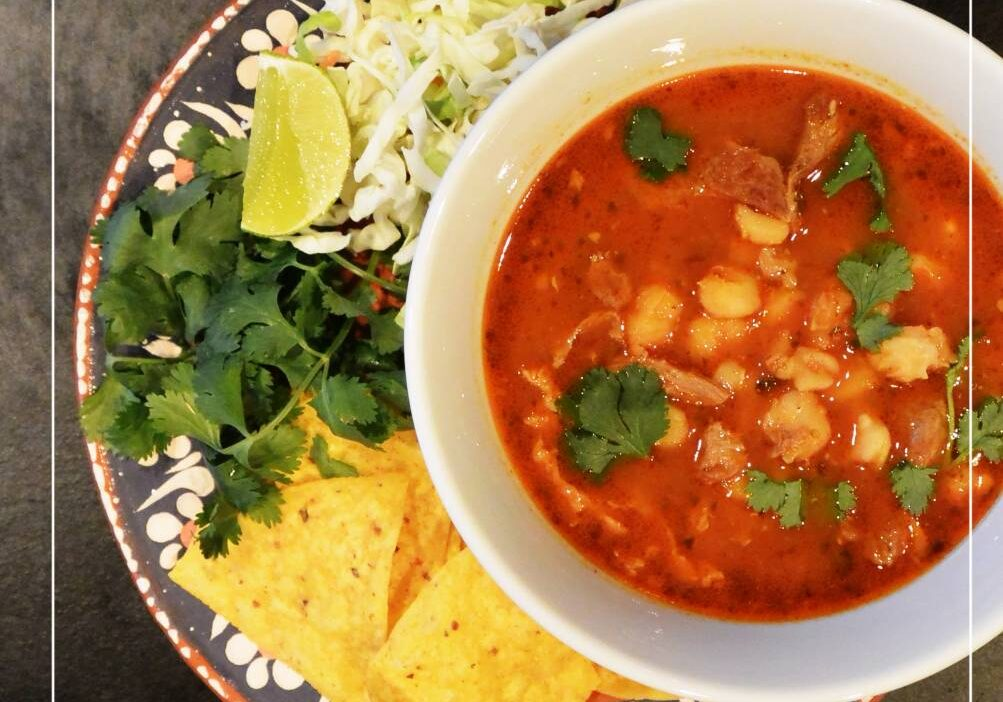 Delicious recipe for posole, fast, easy and healthy!