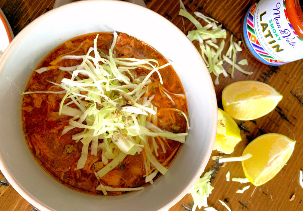 Pozole recipe for the slow cooker